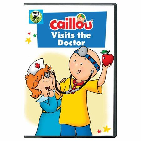 Caillou Caillou Visits The Doctor Dvd Walmart Com Caillou Pbs Kids Cool Things To Buy