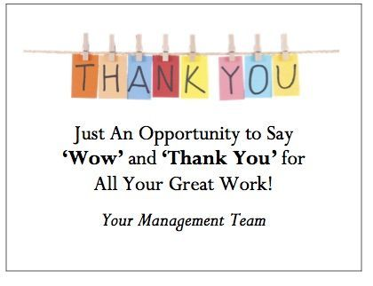 Custodian Thanks Quotes Image Employee Appreciation Quotes