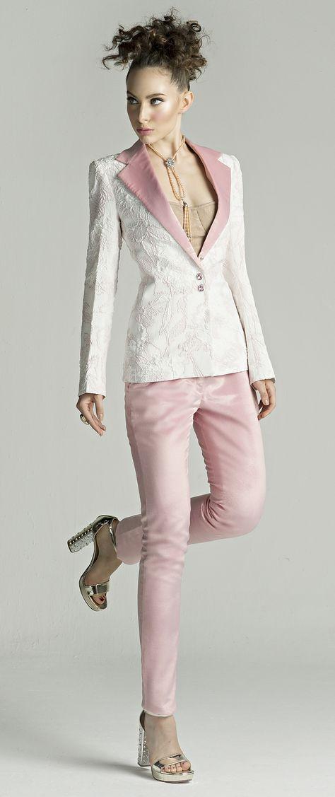 Modern Women Corporate Attire High End Luxury Design Couture