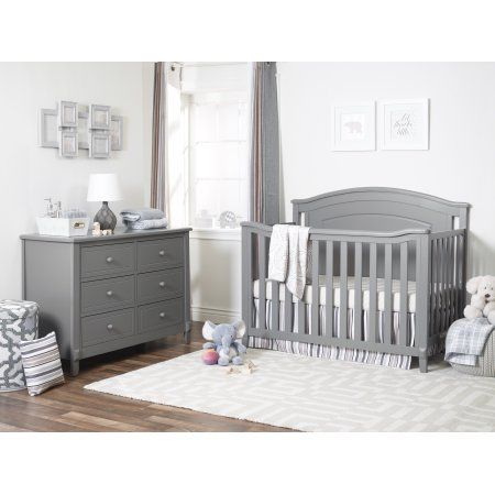 Glendale Crib Gray Baby Boy Room Nursery Nursery Baby Room Grey Crib Nursery
