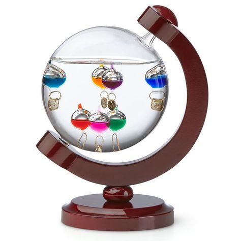 Galileo Globe Thermometer with Stand by Lenox