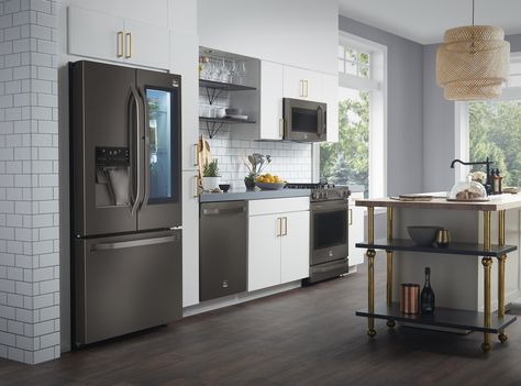 Lg Kitchen Appliances Honest Preference Black Beauty Adds Allure To The With Stainless Photos Courtesy Of Studio