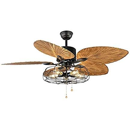 Industrial Fan Semi Flush Ceiling Light Litfad Antique Vintage