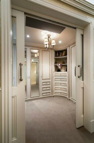 18 Luxury Closets For The Master Bedroom | Division, Bedrooms And Modern