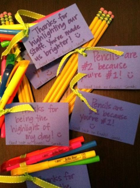 Encouragement during statewide school testing