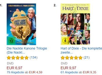 """Amazon: DVD-Trilogie """"Die Nackte Kanone"""" für 6,97 Euro https://www.discountfan.de/artikel/technik_und_haushalt/amazon-dvd-trilogie-die-nackte-kanone-fuer-7-euro.php 242 Minuten Humor mit Lt. Frank Drebin zum Schnäppchenpreis von 6,97 Euro frei Haus: Die Trilogie """"Die nackte Kanone"""" können sich Prime-Kunden bei Amazon zum Schnäppchenpreis sichern. Amazon: DVD-Trilogie """"Die Nackte Kanone"""" für 6,97 Euro (Bild: Amazon.de) Um die DVD... #Dvd, #Film,"""
