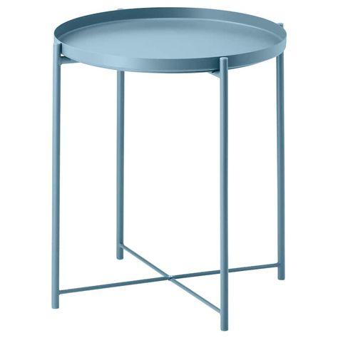Ikea Table D Appoint.Gladom Table Plateau Bleu Home Future En 2019 Table