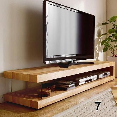 These Free Tv Stand Plans Will Help You Build Not Only A Place To Sit Your Tv But Also A Place To Store Your Living Room Tv Stand Living Room Tv