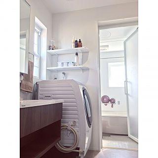バス トイレ ジョンマスターオーガニック Jhonmasters Organics パナソニック洗濯乾燥機 パナソニックバスルーム などのインテリア実例 2018 01 08 09 15 14 Roomclip ルームクリップ 浴室の掃除 インテリア バスルーム