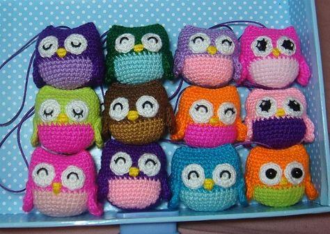Ravelry: little owls pattern by Amy Chou