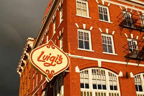 Luigi S Italian Restaurant 245 West Main Street Spokane Wa D050711luigi04 4030 Inland Nw By Sewell Scenics Pinterest