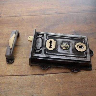 Rim Locks Latches The Period Ironmonger Barn Door Hinges Mortice Lock Bolt