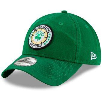 Boston Celtics New Era 2018 Tip Off Series 9twenty Adjustable Hat Kelly Green New York Knicks Fitted Hats Boston Celtics