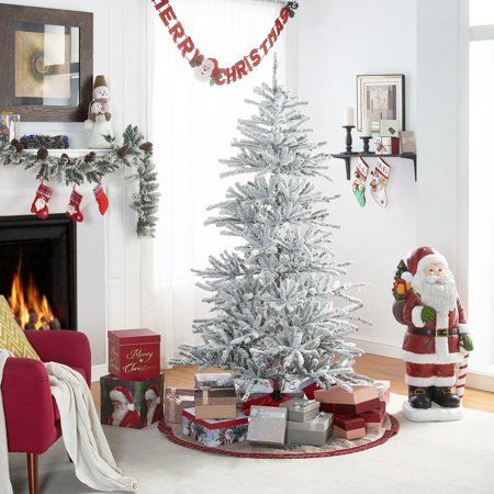 Home Metal Tree Holiday Decor Artificial Christmas Tree