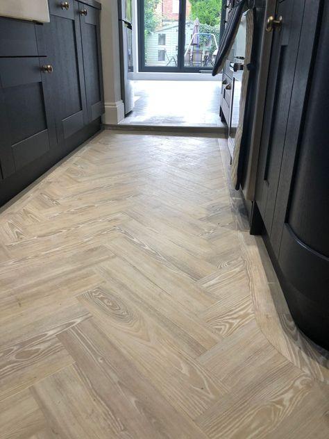 Have A Splash Of White Ash Herringbone Wood Floor Flooring Amtico Flooring
