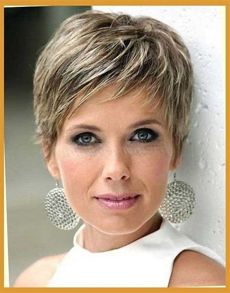 Image result for Short Hairstyles for Women Over 60 Fine