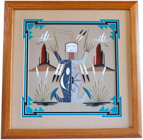 Native American Sand Painting