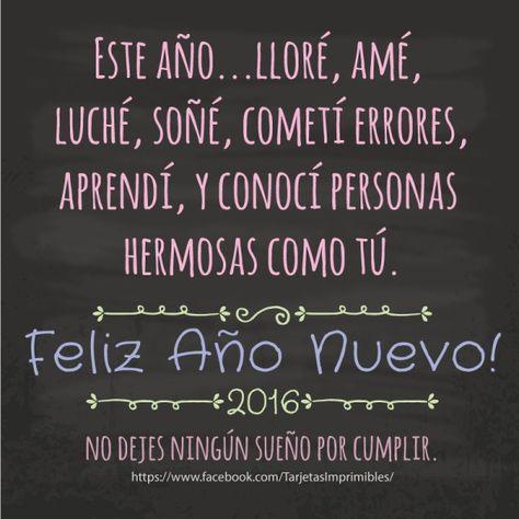 Frases Para Compartir En Facebook Frases De Año Nuevo