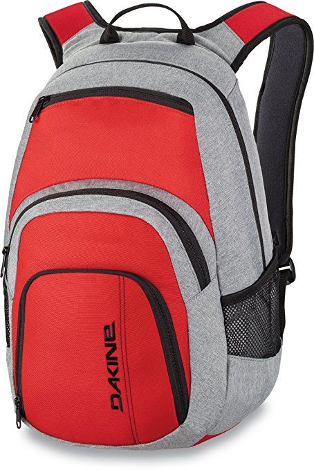 ebc9689ab43b2 Dakine – Campus Backpack – Padded Laptop Sleeve – Insulated Cooler Pocket –  Four Individual Pockets – 25L   33L Size Options  Sports   Outdoors