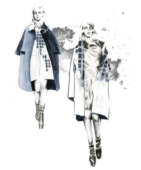 Illustration by Ewelina Dymek for JSR Agency artist agents. We offer a full service for advertising, product and editorial Fashion Illustration