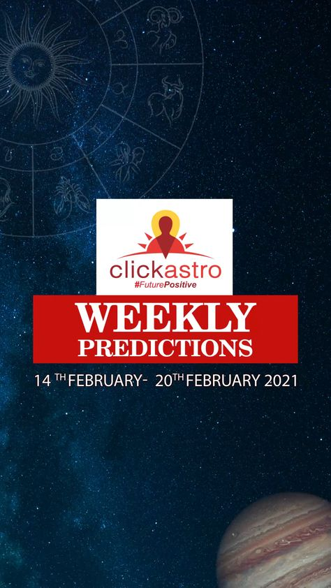 Weekly Predictions are here! Checkout your horoscope predictions for the entire week 🙂 #Clickastro #FuturePositive #Astrology #VedicAstrology #Horoscope #ZodiacSigns #AstrologyZone #Astrologer #AstrologerIndia #ZodiacLife #AstrologySigns #AstrologyReadings #AstrologyLovers #SundayInspiration