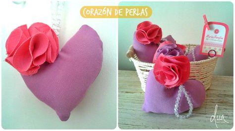 Corazón de perlas! Souvenir para comunión, cumpleaños, bautismo, nacimiento.