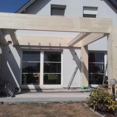 garage bois toit plat garage, abri voiture Pinterest Garage - Montage D Un Garage En Bois