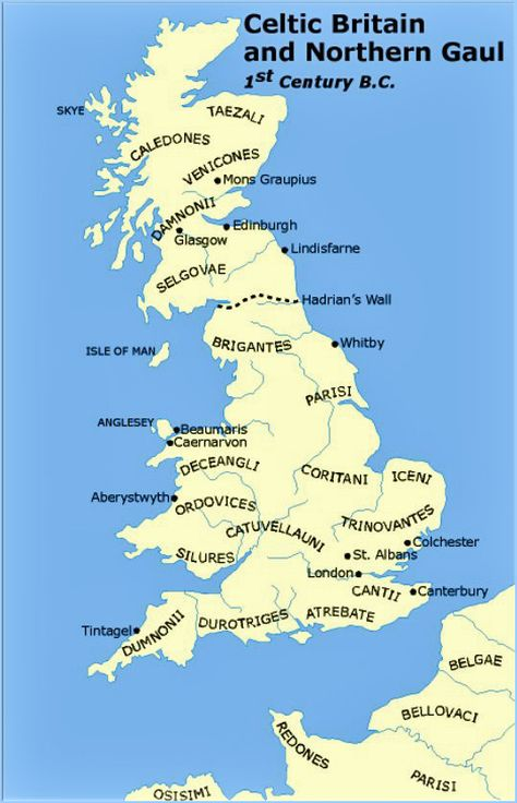 Gaul World Map.Map Of Celtic Britain And Northern Gaul 1st Century B C Maps Of