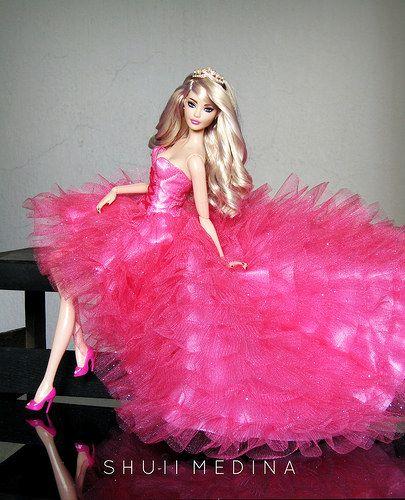 Pink Princess Barbie Dress