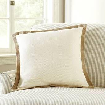 Ellijay Cotton Throw Pillow Reviews Birch Lane Square Pillow Cover Throw Pillows Pillow Covers