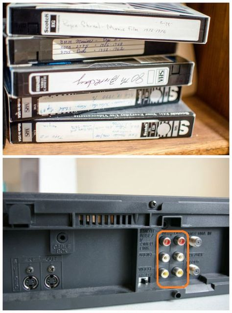 How To Transfer VHS To Computer | The Easy Way This is what you'll need: A VCR with video and audio connections on the back. A VHS tape to record from (Do not use copywrite content, we do not want you to break the law!). A Computer with room on hard drive or you may need an external hard drive. An hour-long video normally uses 750 MB of storage. An Adapter to connect the VCR to your Computer (I used the Elgato Adapter video capture as it is both Apple and PC compatible. Buy it here Alternatively