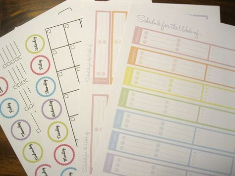 Organizing Printables!