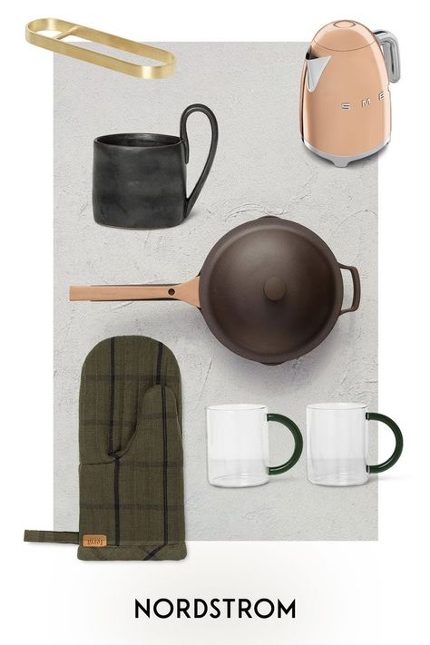 Reinventing kitchen classics to make daily tasks more streamlined is the foundation of brands like ferm LIVING, Our Place, smeg and more.