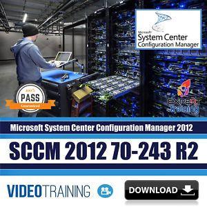 Details About Microsoft Sccm 2012 70 243 R2 Video Training Course