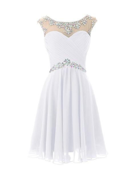 Dresstells Short Prom Dresses Sexy Homecoming Dress for Juniors Birthday Dress Purple Size 2