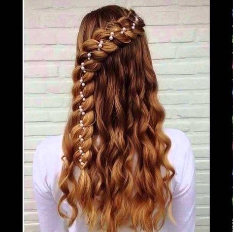 Schone Einfache Frisuren Fur Lange Dicke Glatte Haare Frisuren