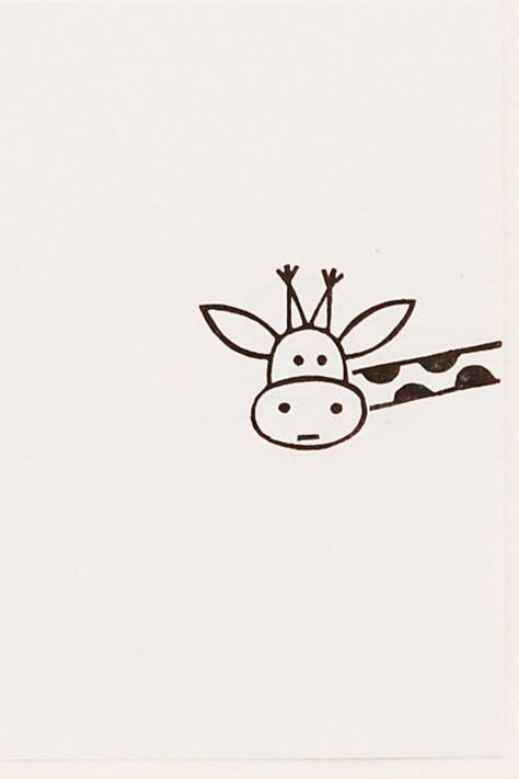 Cutest giraffe stamp from our animal stamp collection. Image SIZE: 3 x 1.9 cm ( 1 3⁄16 by 3⁄4 inches) The stamp is carved from quality rubber by hand. The color of gum we use differs from piece to piece, so your stamp may be a little bit different from the image, but will retain the