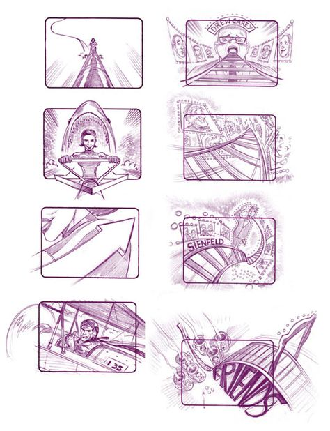 19 Delightful Commercial Storyboard Examples  Studies images