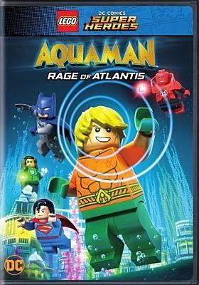 Lego Dc Comics Super Heroes Aquaman Rage Of Atlantis J Dvd Leg Lego Dc Aquaman Dc Superheroes