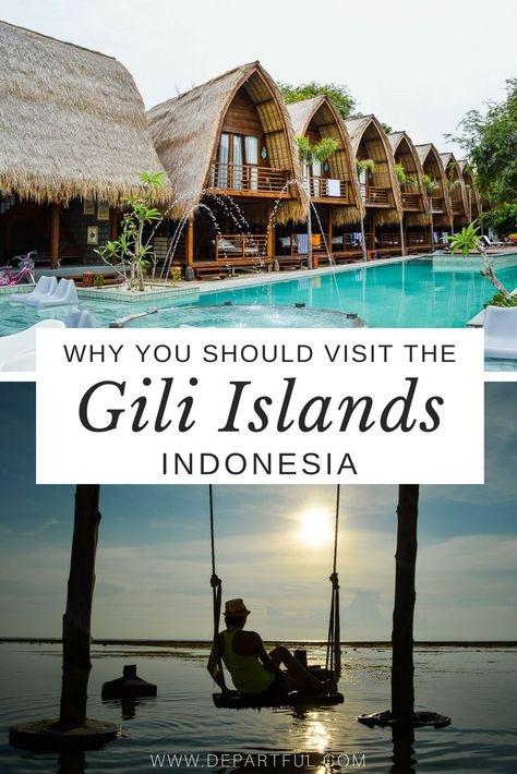 The Gili Islands are magical, but this particular type of magic may not be lasting for long. The trifecta of islands (Gili Trawangan, Gili Air and Gili Meno) offer spectacular beaches, stunning sunsets, and an onslaught of development | indonesia travel tips, bali travel, things to do in indonesia, southeast asia travel, beach travel, resorts, paradise #indonesia #beaches #travelblogger