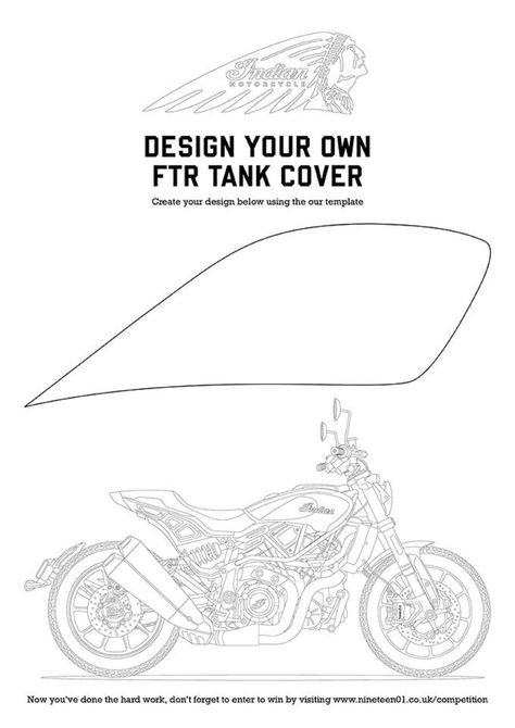 Design Your Own Indian FTR 1200S Tank Cover
