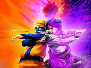 Gambar Naruto Vs Sasuke 2 In 2020
