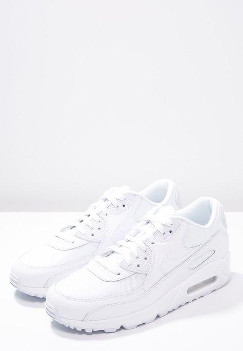 AIR MAX 90 ESSENTIAL - Sneakers laag - white @ Zalando.nl ...