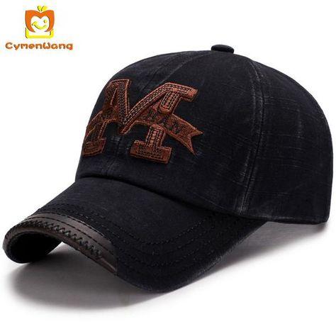 1367646b1f2  FASHION  NEW Cymenwang Letter Baseball Cap Men Adjustable Cap Casual Cotton  Fishing Women Brand Snapback Caps Hip Hop Vintage Dad Hat…