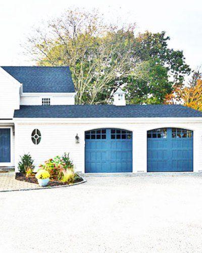 25 Gorgeous Garage Doors Cococozy Garage Door Design Garage Door Colors Garage Door Styles