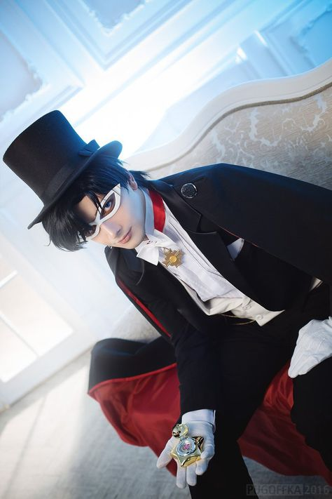 Tuxedo Mask by mikle-kolumb245.deviantart.com on @DeviantArt