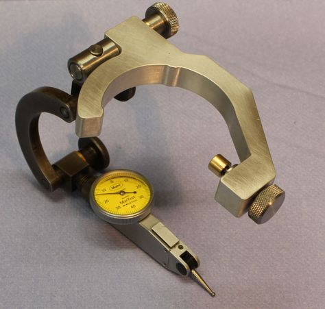"""Anytime Tools Test Dial Indicator 0.0005/"""" 0-15-0 and Universal Holder Quill C..."""