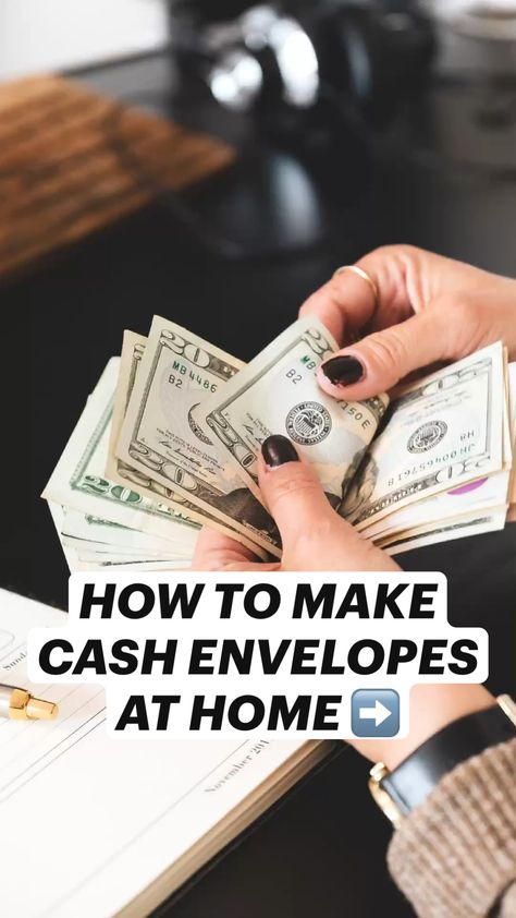 HOW TO MAKE CASH ENVELOPES AT HOME (DIY CASH ENVELOPES)