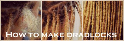 How to make dreadlocks dreadlocks hair affair and hair dye urmus Images