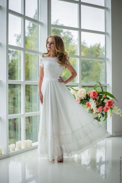 5232af2e52a Lace wedding dress   Одежда и аксессуары ручной работы. Платье
